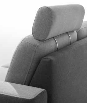 Stagra Rohová sedacia súprava Chantal U Chantal U: Záhlavník