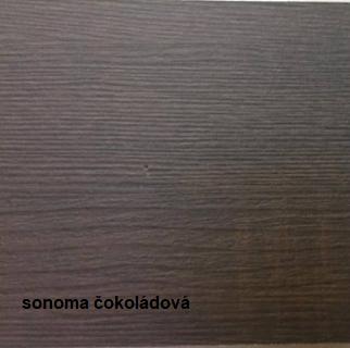 JarStol Konferenčný stolík Janek konferenčný stolík: sonoma čokoládová