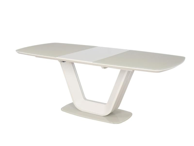 Signal Rozkladací jedálenský stôl ARMANI Farba: Krémová