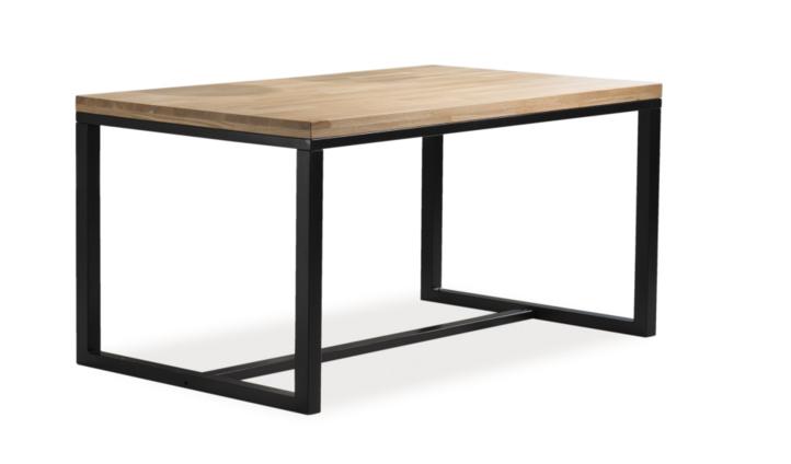 Signal Jedálenský stôl LORAS A   dubová dýha stoly: 75 x 90 x 180 cm
