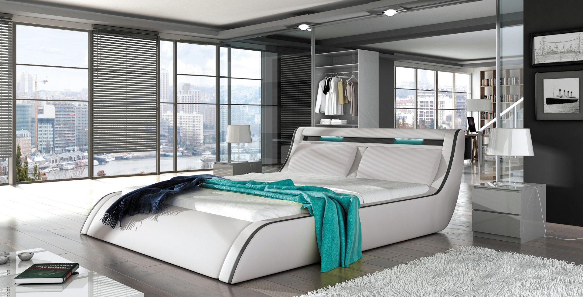 Wersal Manželská posteľ Corfu rozmer: 140 x 200 cm