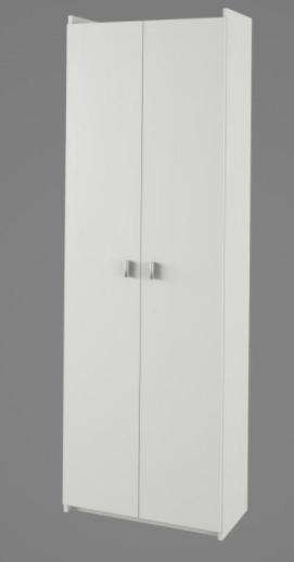 Tempo Kondela Kúpelňa Natali Natali: policová skriňa typ 2 biela