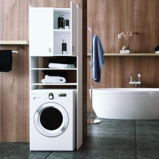 Tempo Kondela Kúpelňa Natali Natali: skrinka na práčku typ 1 biela