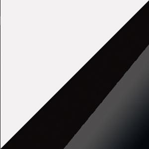 WIP TV stolík Angel 12 Farba: Biela / čierny lesk