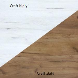 WIP TV stolík Angel 12 Farba: Craft biely / craft zlatý
