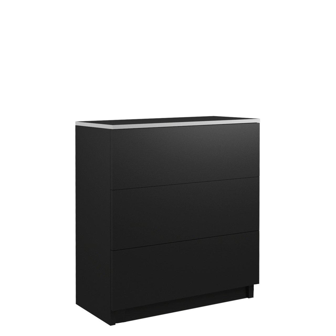 ArtStol Komoda VISTA S3 Farba: Čierna