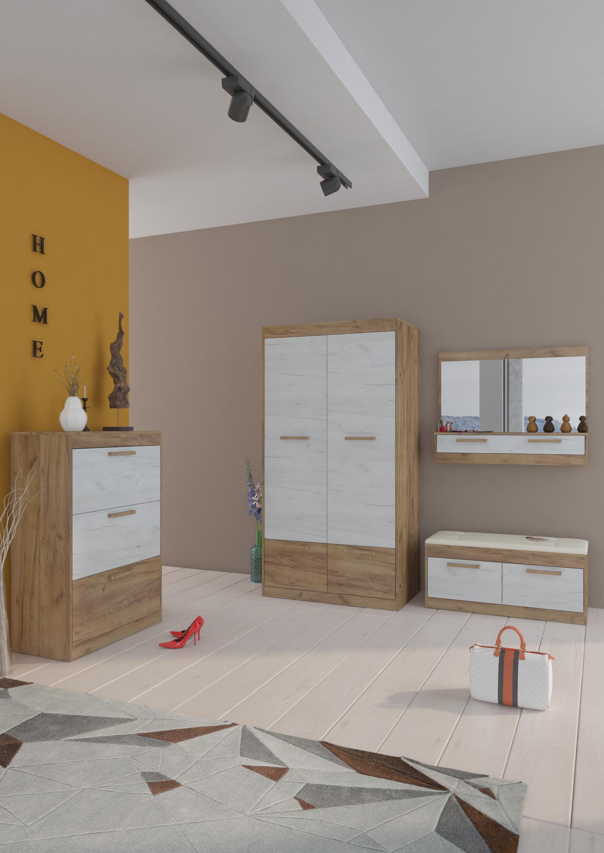 Predsieňová zostava Maximus WIP 15 Farba: Craft zlatý / craft biely