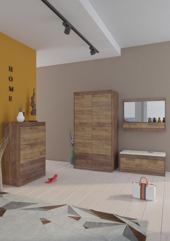 Predsieňová zostava Maximus WIP 15 Farba: Craft tobaco / craft zlatý
