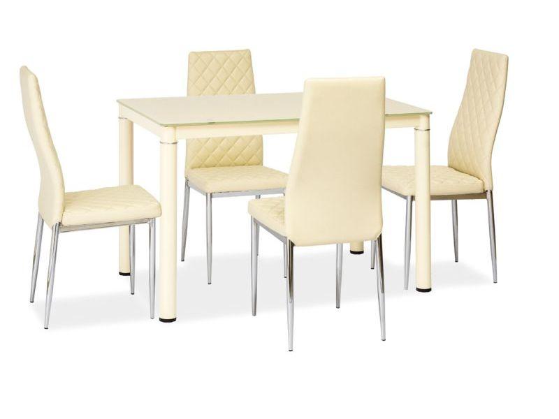 Signal Jedálenský stôl Galant Farba: Béžová