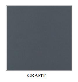ArtElb Jedálenský set MODENA 2 / MILANO 8 (1+6) Farba: Grafit