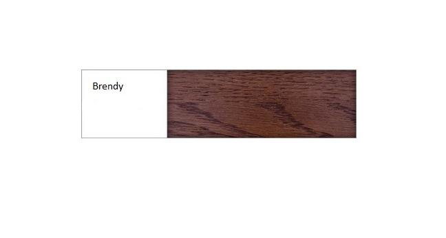 Drewmax Manželská posteľ - masív LK293 | 180 cm dub Farba: Dub brendy