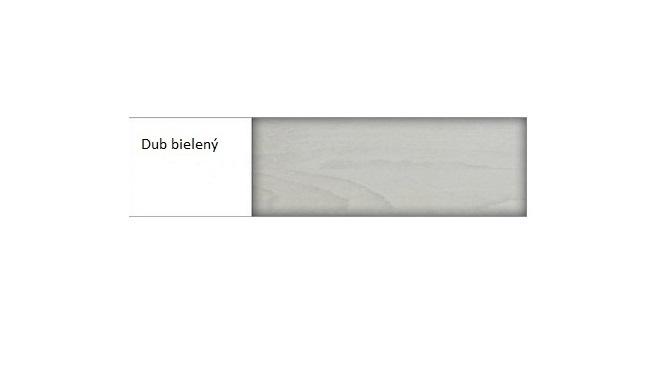 Drewmax Nočný stolík - masív SN211 / dub Farba: Dub bielený