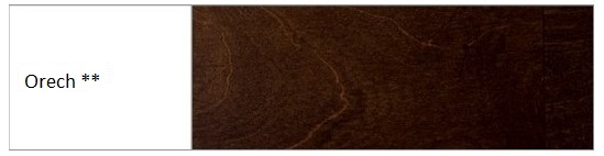 Drewmax Manželská posteľ - masív LK192 | 180 cm buk Morenie: Orech