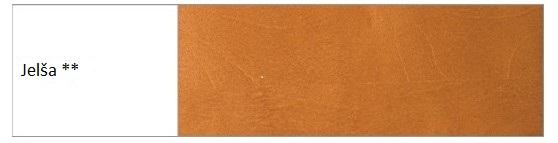 Drewmax Manželská posteľ - masív LK194 | 180 cm buk Morenie: Jelša