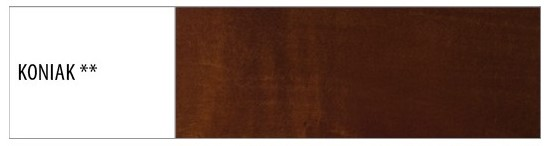 Drewmax Komoda - masív KD411 / buk Morenie: Koniak