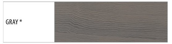 Drewmax Vitrína - masív KW401 / buk Morenie: Gray