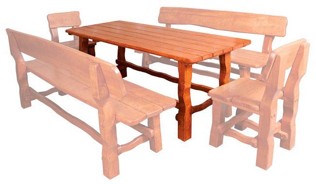 Drewmax Záhradná zostava MO212 Prevedenie: Stôl