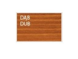 Drewmax Ozdobný štvorcový drevený kvetináč MO271 Farba: Dub