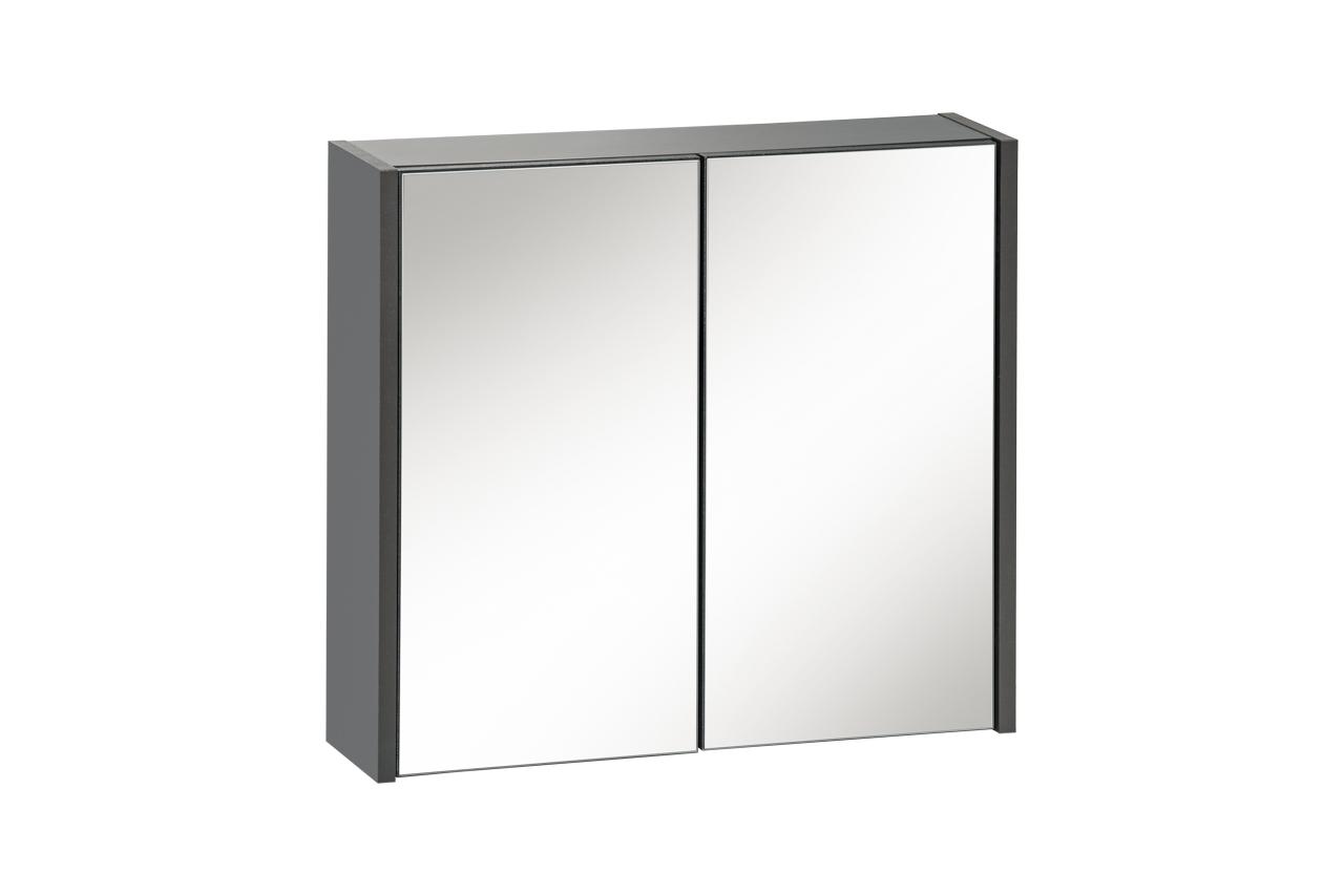 ArtCom Kúpeľňová zostava IBIZA | grafit Ibiza: zrkadlová skrinka 840 - 55 x 60 x 16 cm