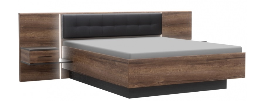 Forte Manželská posteľ Bellevue BLQL161B