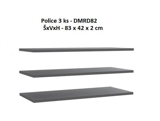 Forte Spálňa Starlet White Prevedenie: Police 3ks - DMRD82