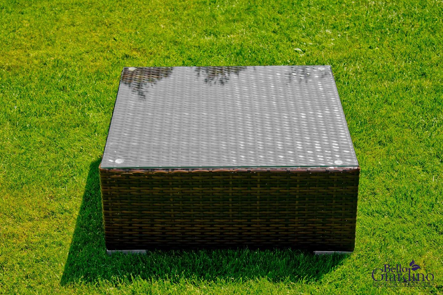 Bello G Záhradný ratanový stôl SM001 Prevedenie: Hnedá