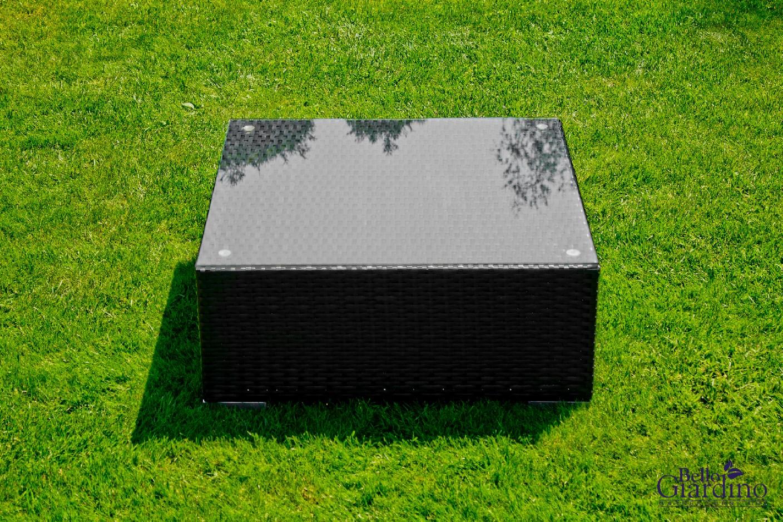 Bello G Záhradný ratanový stôl SM001 Prevedenie: Čierna