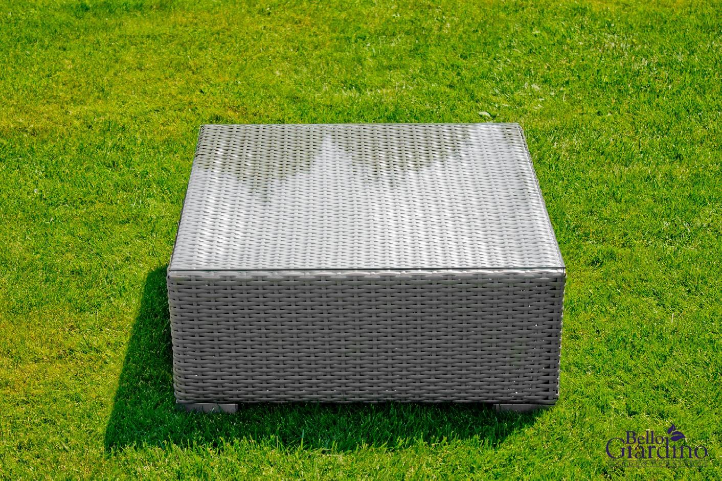 Bello G Záhradný ratanový stôl SM001 Prevedenie: Sivá