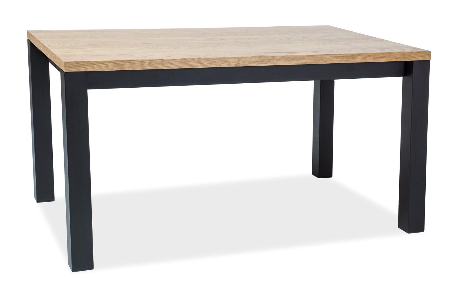 Signal Jedálenský stôl Imperial / Dubová dýha Prevedenie: 77 x 90 x 180 cm
