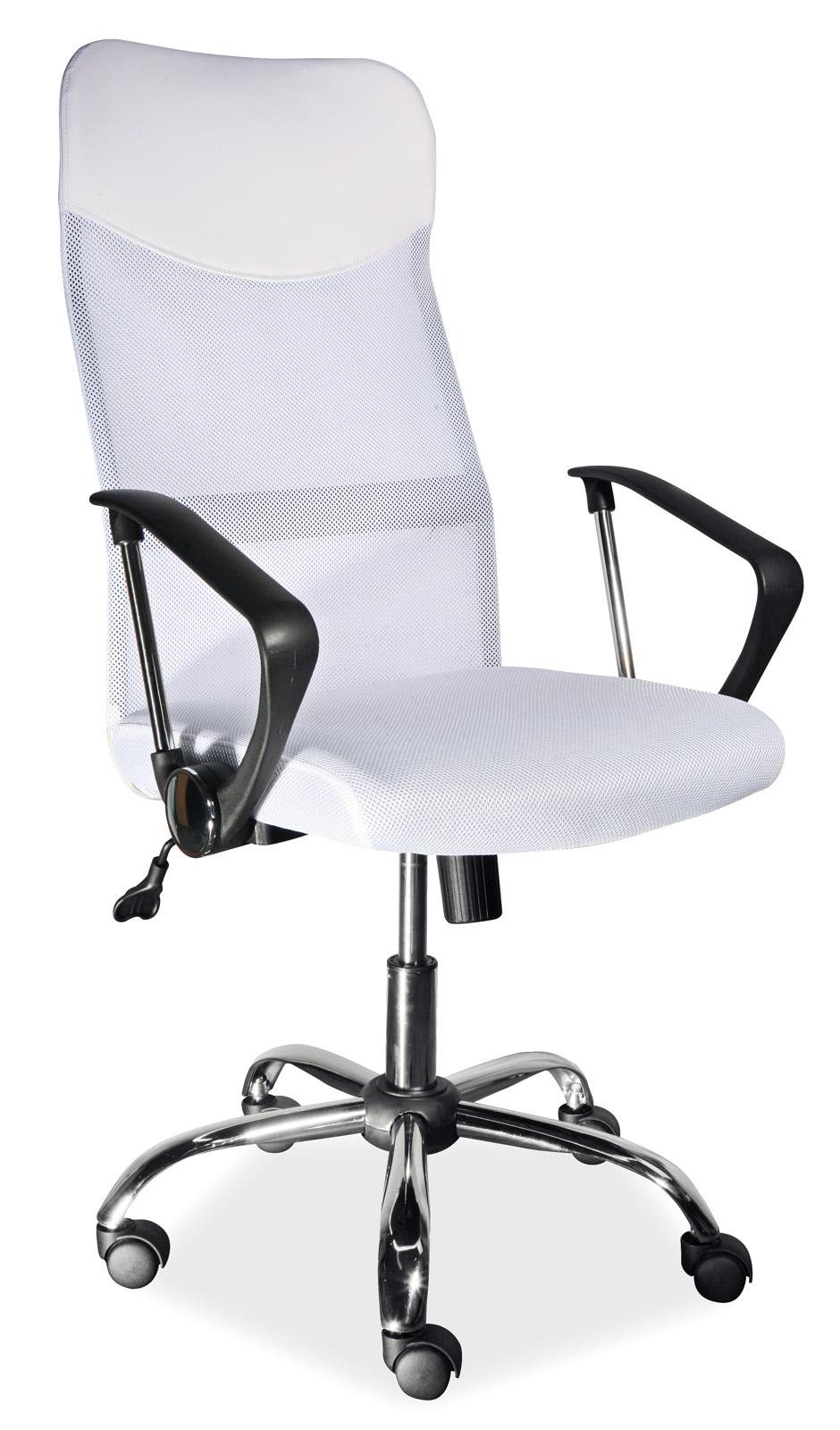 Signal Kancelárske kreslo Q-025 biele