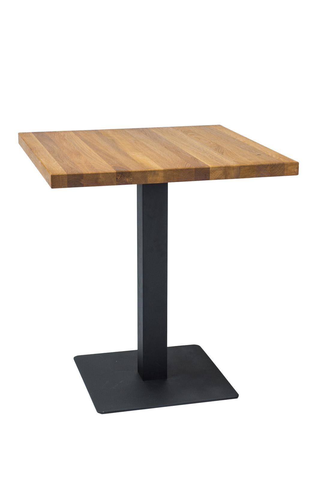 Signal Jedálenský stôl Puro / Dubová dýha Prevedenie: 76 x 80 x 80 cm