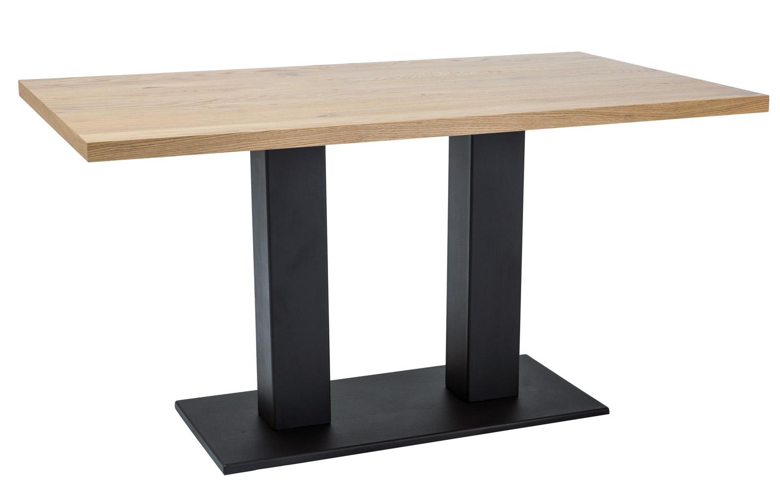 Signal Jedálenský stôl Sauron / Dubová dýha Prevedenie: 180 x 90 cm