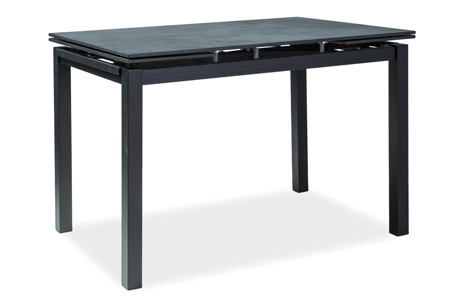 Signal Jedálenský stôl Turin Farba: Čierna