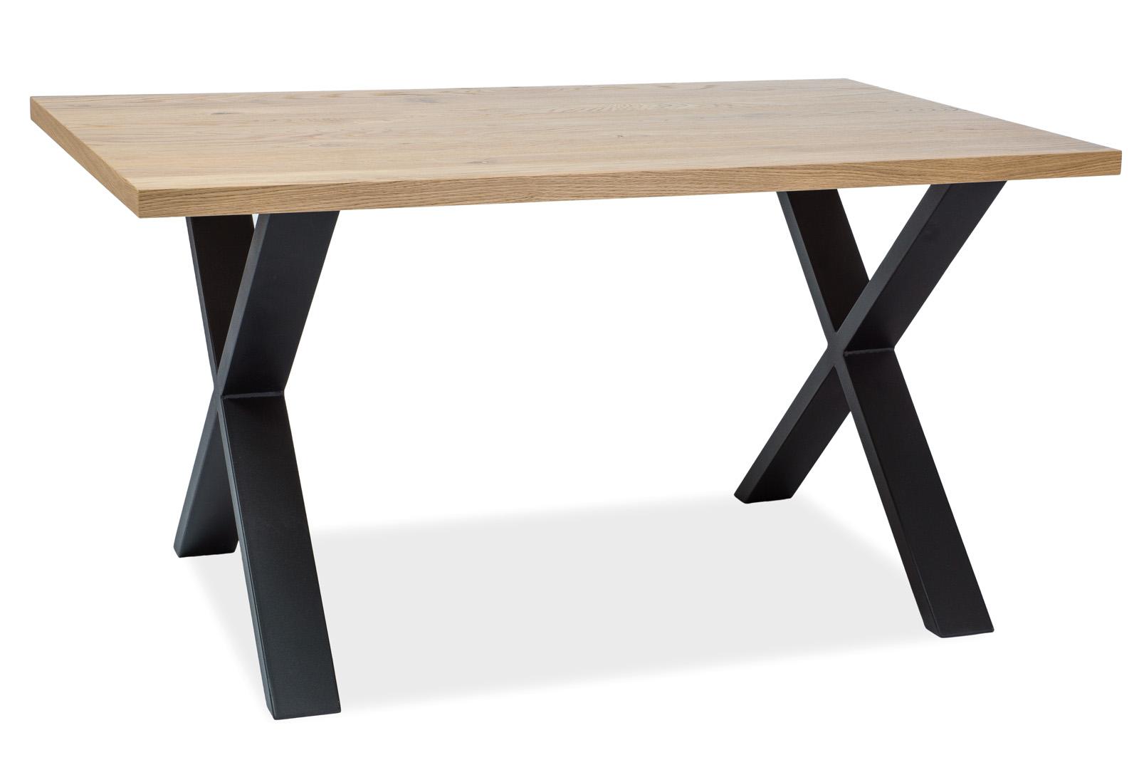 Signal Jedálenský stôl Xaviero II / Dubová dýha Prevedenie: 150 x 90 cm