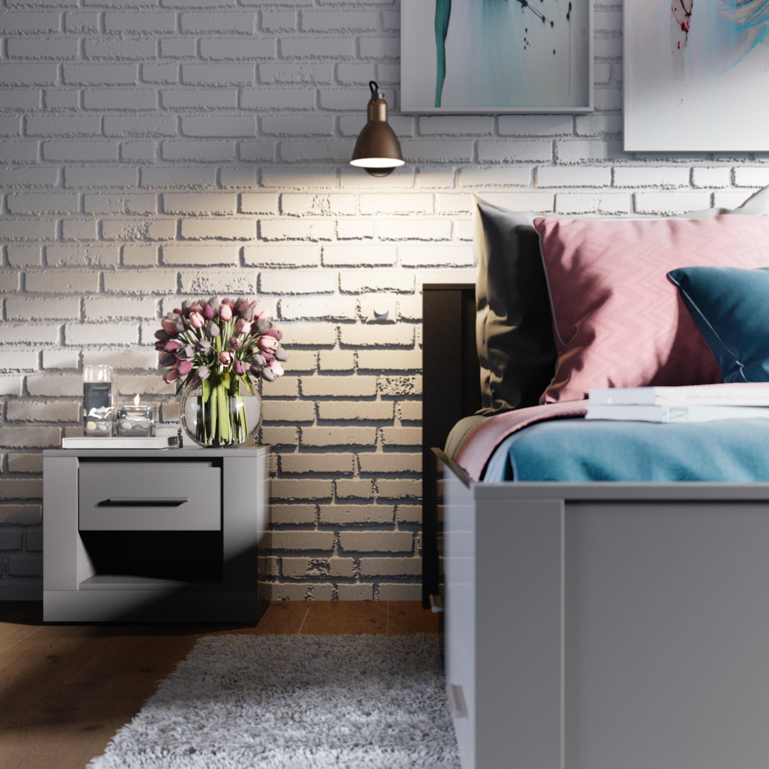 Dig-net nábytok Nočný stolík Idea ID-07 Farba: Dub san Remo