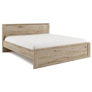 Dig-net nábytok Manželská posteľ Idea ID-08 / 180 x 200 cm Farba: Biela