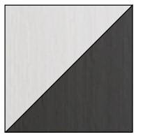 Dolmar Písací stôl Alan 09 Farba: Biela/sivá
