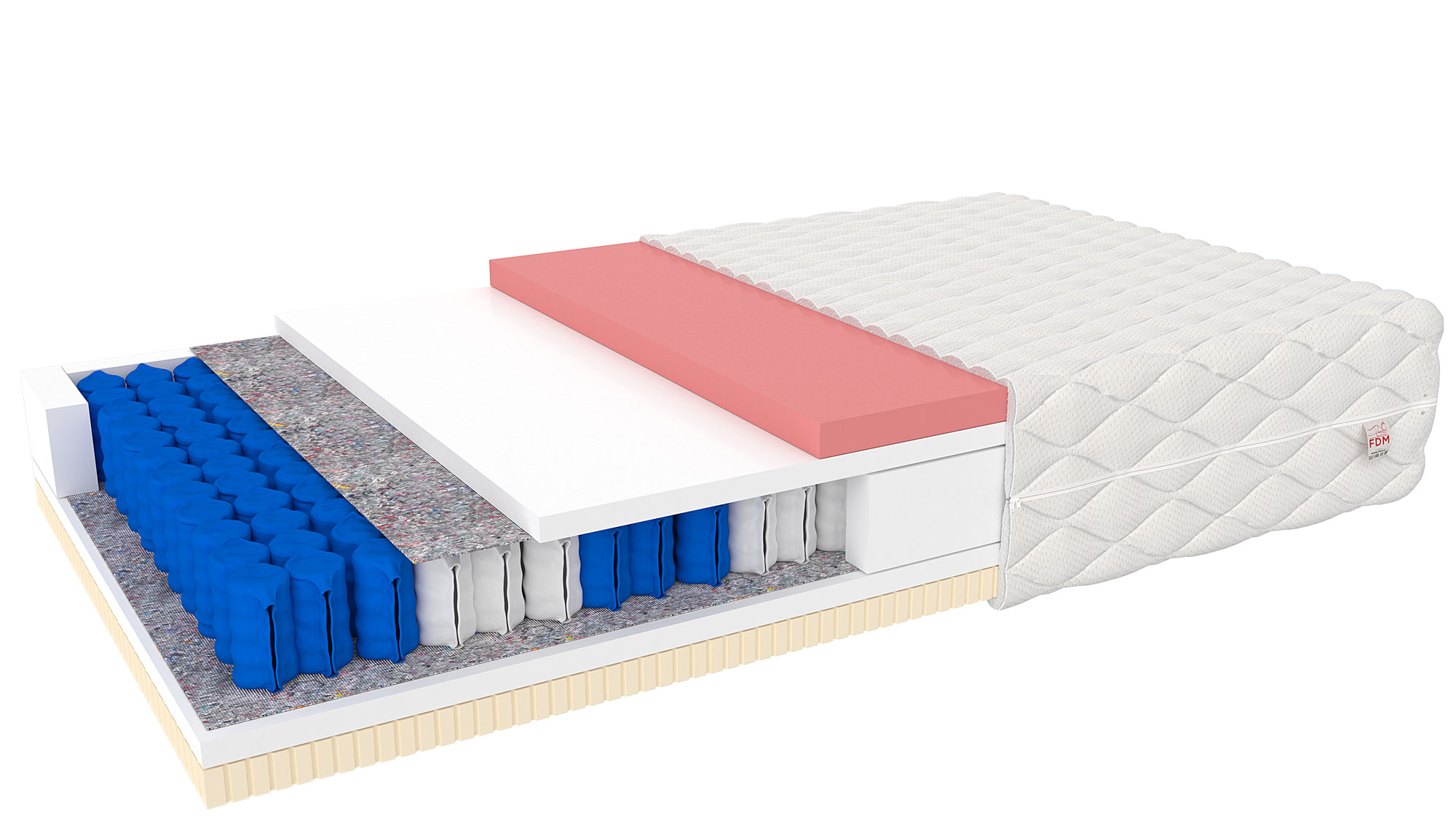 FDM Matrac Davos Prevedenie: 120 x 200 cm