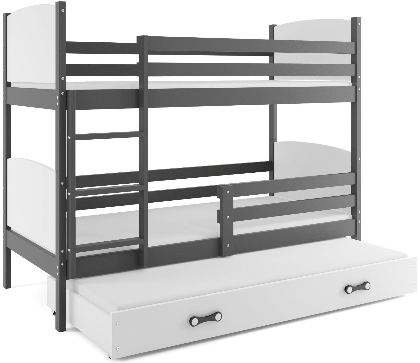 Detská poschodová posteľ Tami 3 BMS 80 x 160 Farba: Jelša