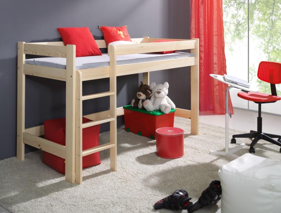 ArtBed Detská poschodová posteľ Laura Prevedenie: Borovica prírodná