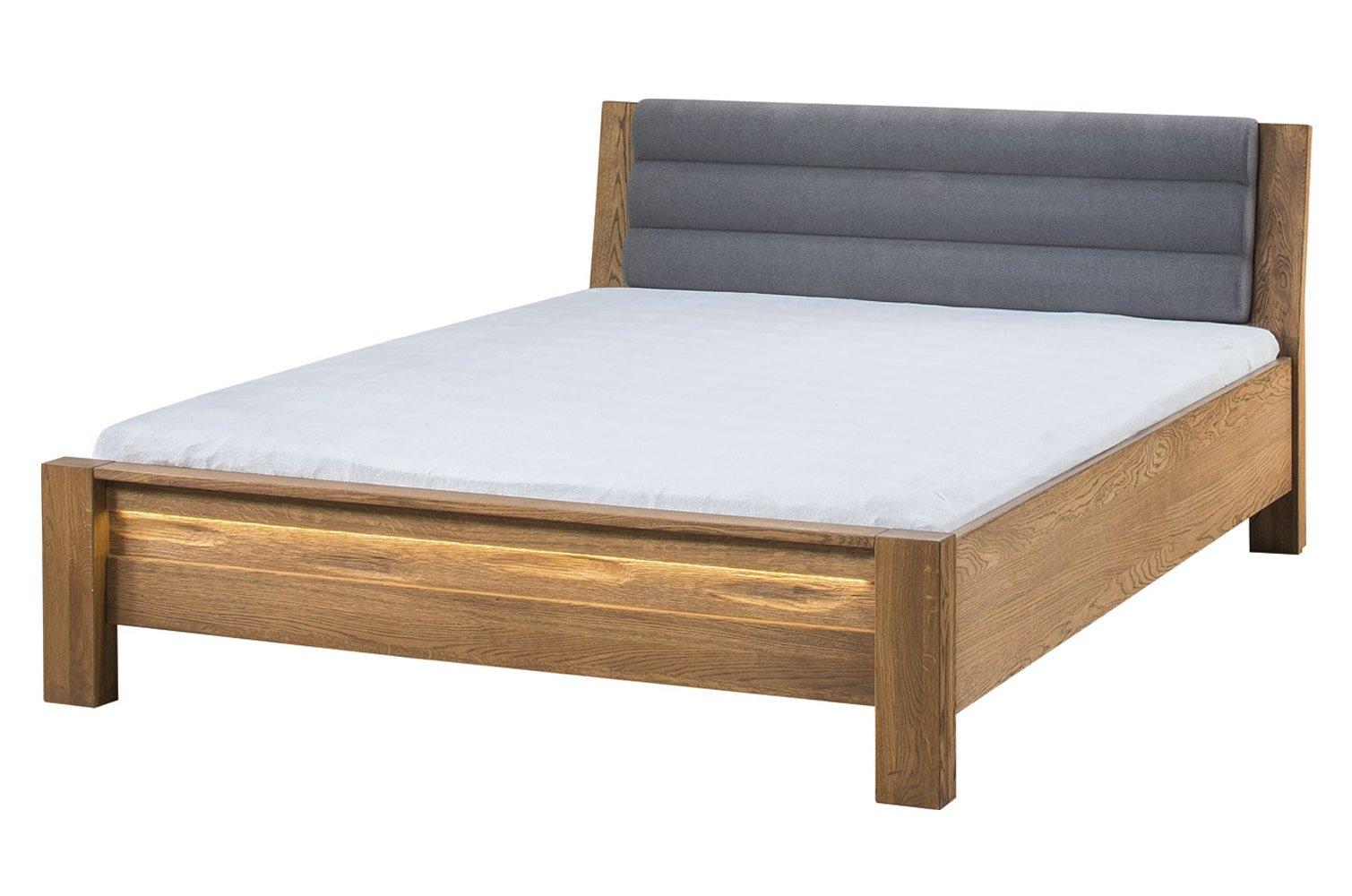 Szynaka Manželská posteľ Velvet 76 Farba: Sivá