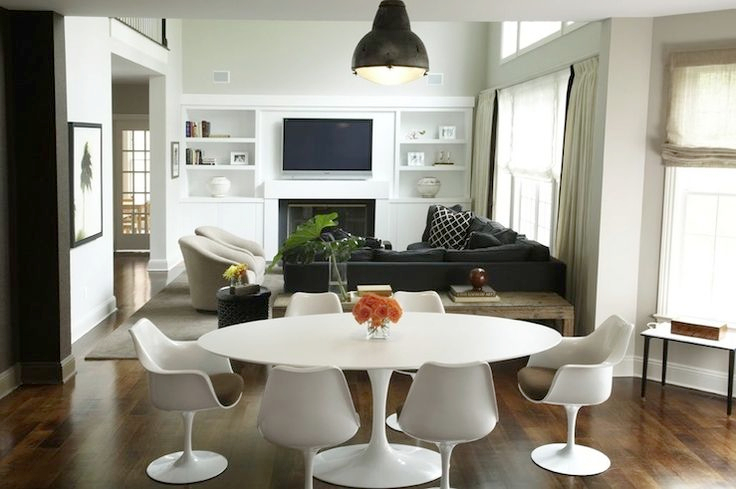 ArtKwa Jedálenský stôl FIBER inšpirovaný Tulip Table oválny 200-120