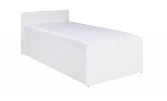 ArtMadex Jednolôžková posteľ Cosmo C08 Farba: Biela