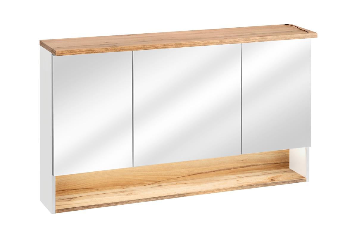 ArtCom Kúpeľňová zostava BAHAMA / white Bahama: zrkadlová skrinka 843 -120 cm | 70 x 120 x 20 cm
