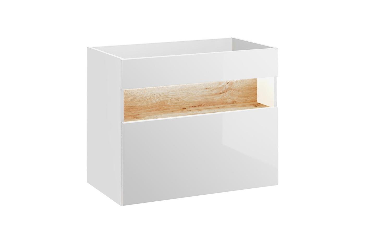 ArtCom Kúpeľňová zostava BAHAMA / white Bahama: skrinka pod umývadlo 80 cm - 821 | 67 x 80 x 46 cm