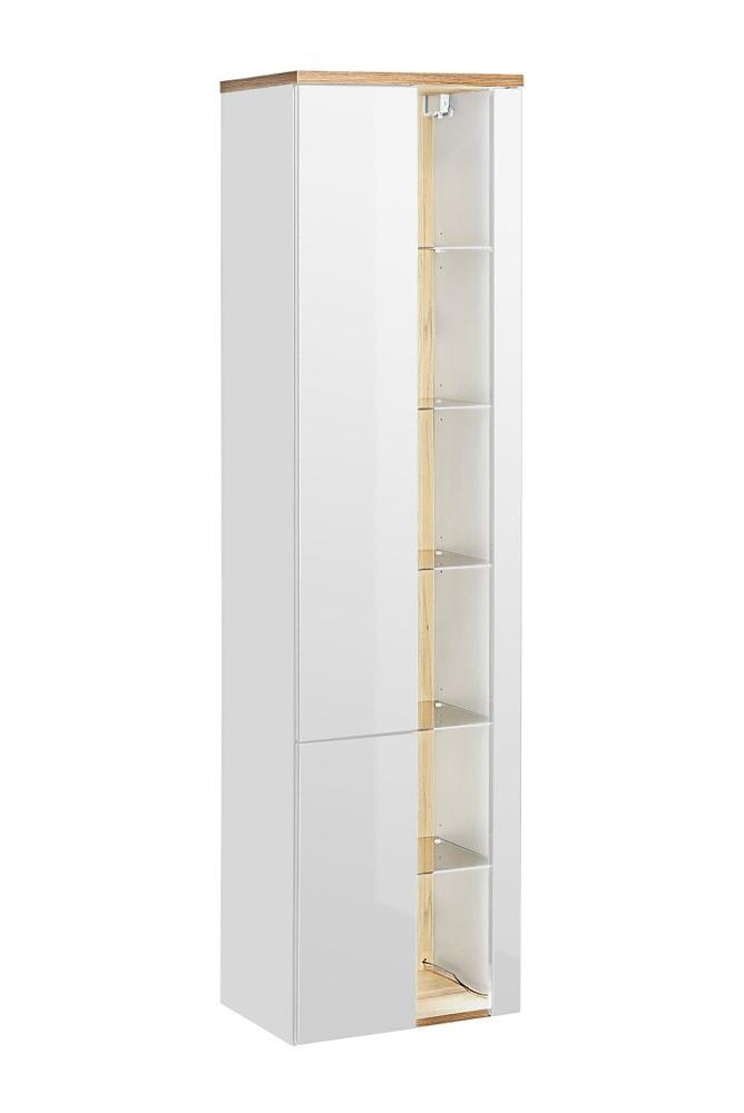 ArtCom Kúpeľňová zostava BAHAMA White Bahama: vysoká skrinka 800   170 x 45 x 33 cm