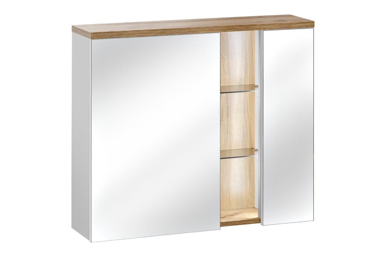 ArtCom Kúpeľňová zostava BAHAMA / white Bahama: zrkadlová skrinka 841 | 70 x 80 x 16 cm