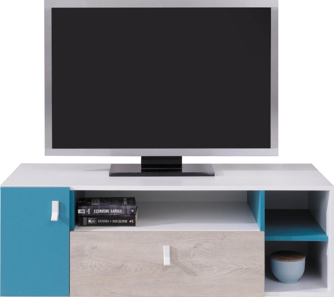 Meblar TV stolík Planet PL10 Farba: Biela