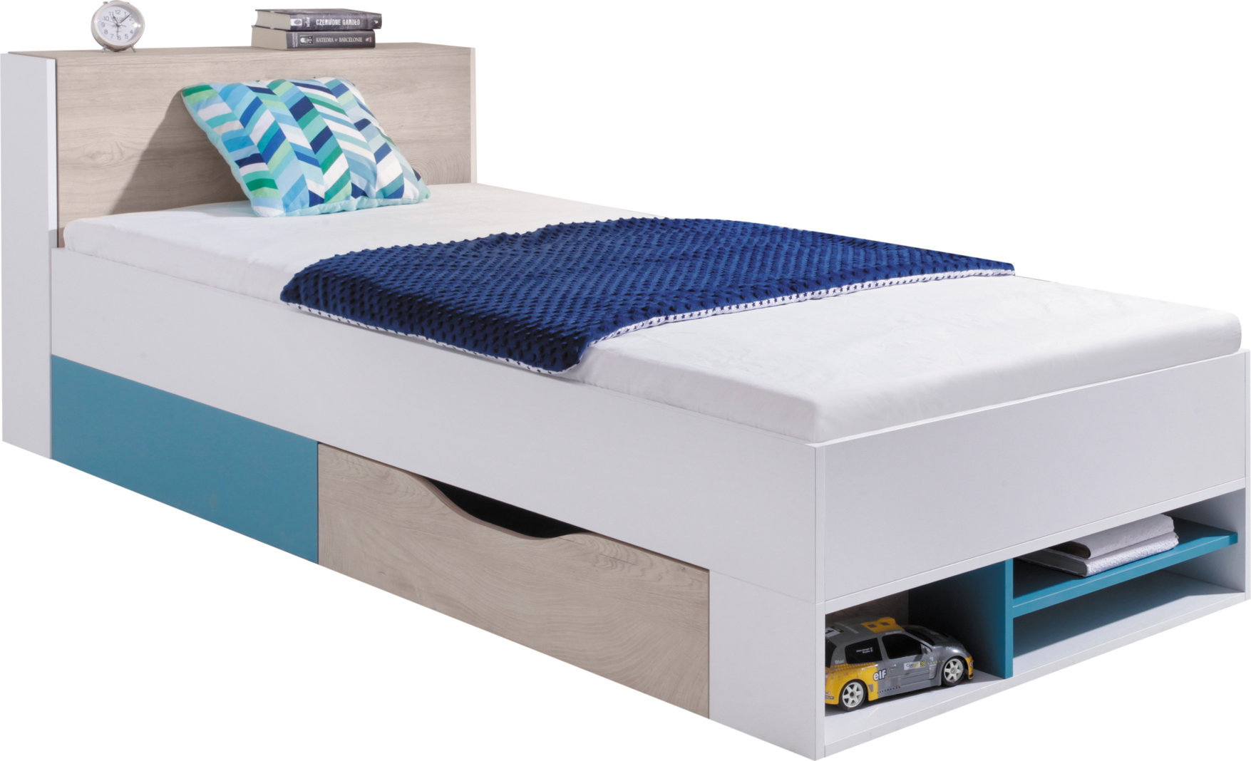 Meblar Detská posteľ Planet PL14 Farba: Biela
