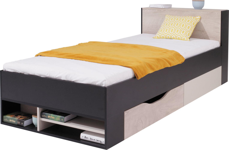 Meblar Detská posteľ Planet PL14 Farba: Čierna